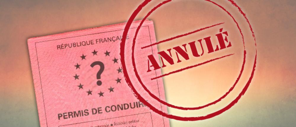 Permis de conduire invalidé récupéré auprès du Tribunal administratif de Nancy