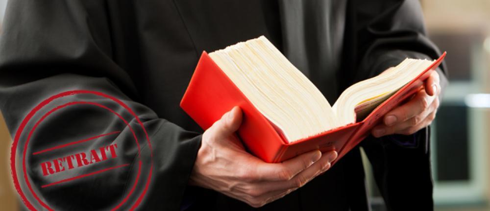 Retrait de permis - Recours d'un avocat