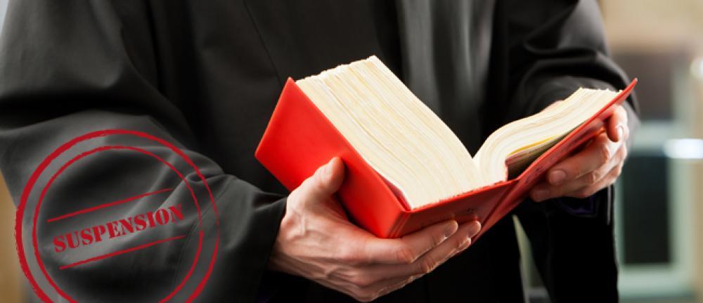 Recours de l'avocat en cas de suspension de permis