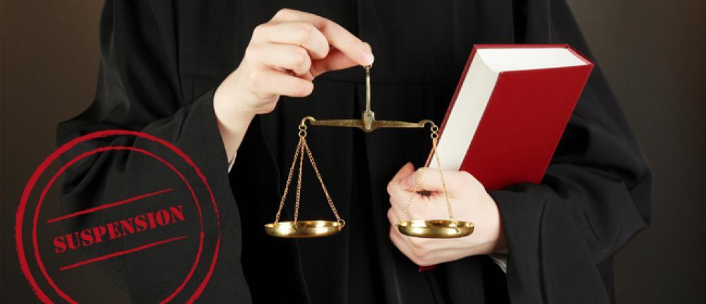 Suspension judiciaire du permis